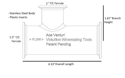 small resolution of 1 5 ace venturi plastic inserts
