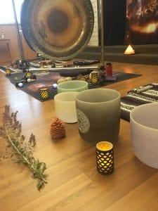 Gong Bath | Vinyasa Productions | Denver CO | Sound Healing Instruments