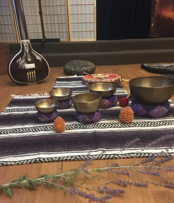 Gong Bath | Vinyasa Productions | Denver, Colorado | Sound Healing instruments