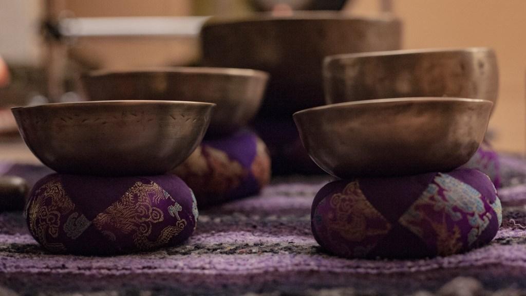 Metal Singing Bowls | Sound Healing Gong Bath | Vinyasa Productions | Denver, Colorado