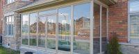 Glass porch enclosures, vinyl windows and entry doors