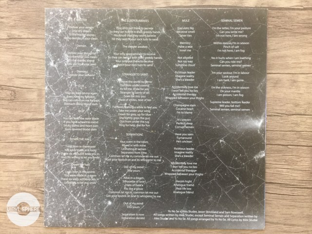 Yo No Se - Soma (inner sleeve: back)