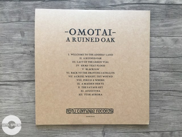 Omotai - A Ruined Oak (back)