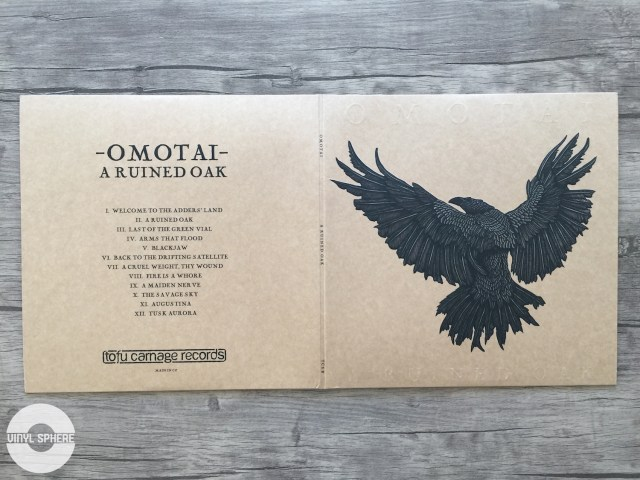 Omotai - A Ruined Oak (gatefold - outside)
