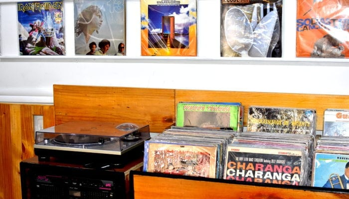 records and player