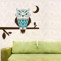 owl:wall:stickers 2017 - Grasscloth Wallpaper