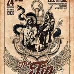 [Live Report ] – 24/04 – THE TIP + MURDER ONE au Cirque Electrique – par Jérôme.