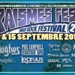 [Live Report] – 17/09 - RAIMESFEST (Journée 2) à Raismes - par Jérôme.