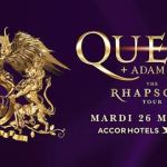 Queen à Paris le 26 Mai 2020.