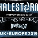 [Live Report] – 13/11 – HALESTORM + IN THIS MOMENT + NEW YEARS DAY à La Salle Pleyel - par Jérôme.