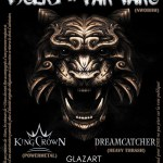 Report du concert de Tygers Of Pan Tang, Kingcrown et Dreamcatcher.