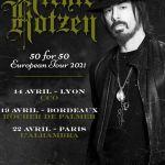 Richie Kotzen - Les nouvelles dates en France.