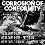 Corrosion Of Conformity - Les nouvelles dates en 2021.