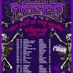 The Dead Daisies les premières dates de la tournée 2021.