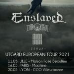 Enslaved - 3 dates en France.