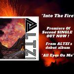 """Premiere - Découvrez le single de Rick Altzi """"Into The Fire"""". Rick sera en interview en direct Dimanche 9 Mai."""