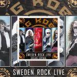 King Kobra - Deluxe édition du Live au Sweden Rock 2016.