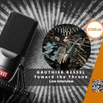 🎙 [Interview] – 213Rock Harrag Melodica reçoit Gauthier Ressel du groupe Toward the Throne