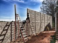 Simulated Stone Fence by SimTek Fence! Granite Fence on ...