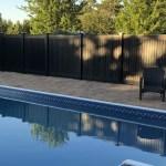 Black Vinyl Fence Black Vinyl Privacy Fence Black Vinyl Fence Panels