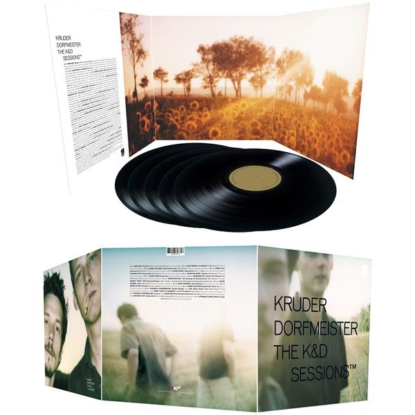 Kruder Dorfmeister The KD Sessions 5LP Vinil 180 Gramas K7 Records Bernie Grundman Pallas 2015 EU  Vinyl Gourmet