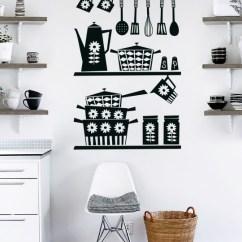 Pictures For Kitchen Wall Tile Floor Designs Retro Sticker By Vinylize Deco En Decorate