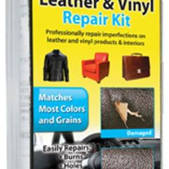 How To Repair A Large Tear In Leather Sofa Microfiber Pet Furniture Covers For Sofas Vinyl Kit ...