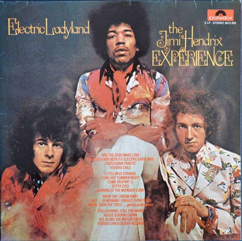 From The Stacks: The Jimi Hendrix Experience – Electric ... |Electric Ladyland Album Cover