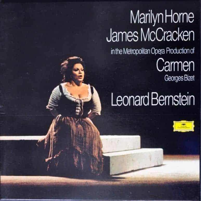 Marilyn Horne James Mccracken In The Metropolitan Opera