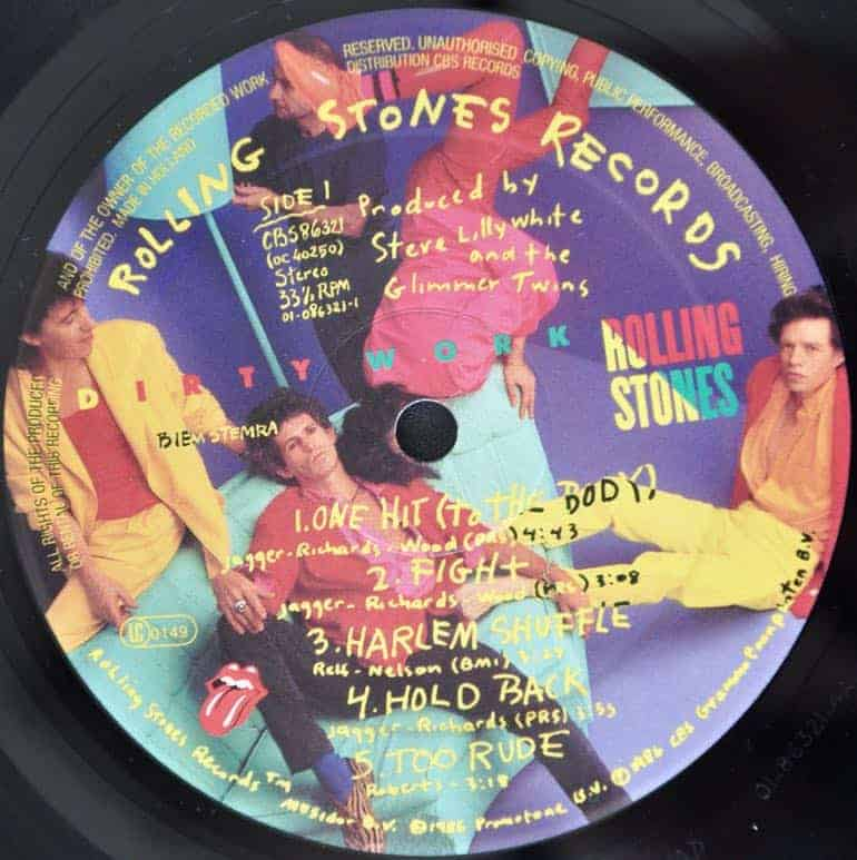 The Rolling Stones Dirty Work