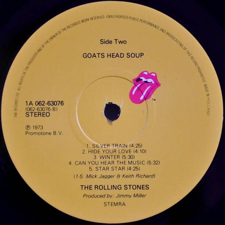 The Rolling Stones Goats Head Soup