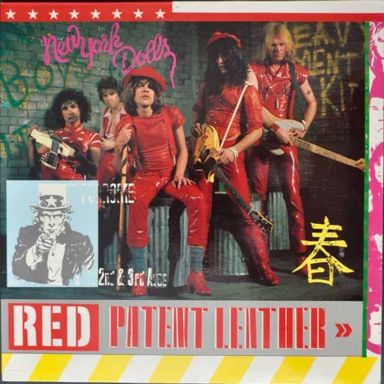 New York Dolls Red Patent Leather Red Vinyl