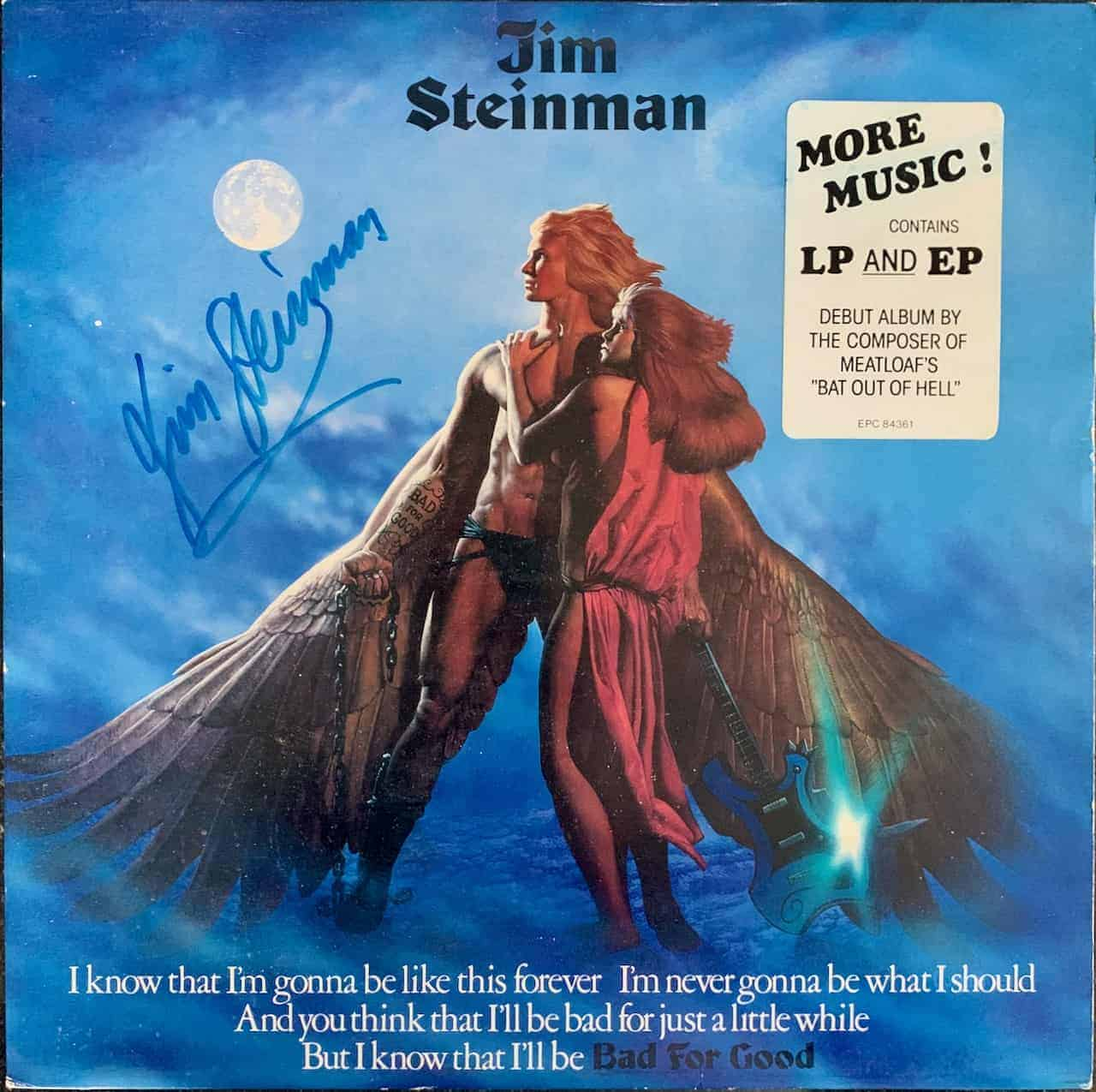 Jim Steinman - Bad For Good (Signed) Special Edition ...