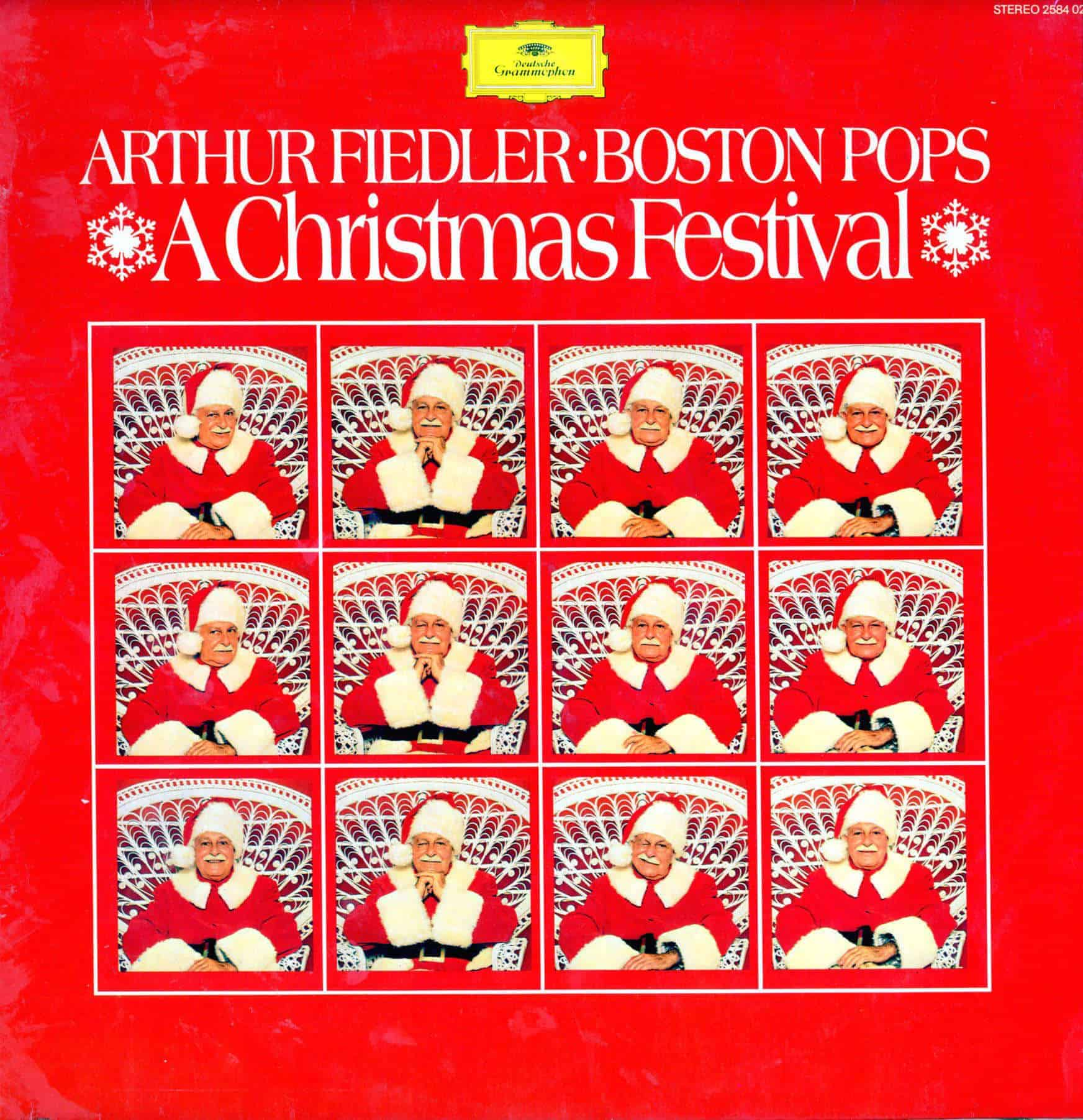 Boston Christmas Festival.Arthur Fiedler Boston Pops A Christmas Festival