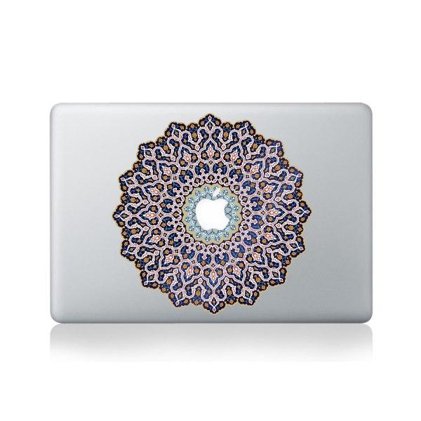Arabic Mandala Vinyl Sticker Macbook 13 15