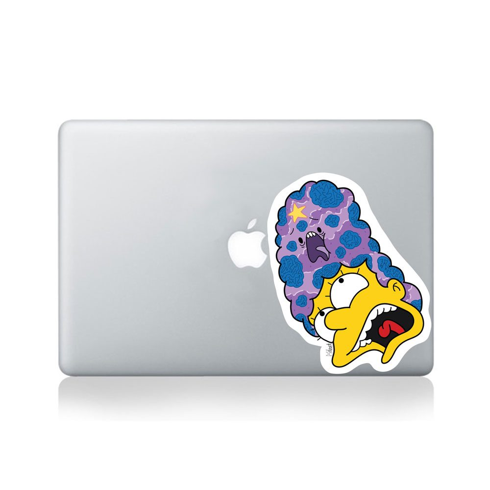 Margey Space Princess Macbook Sticker By Olzord Vinyl Revolution