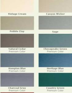 Vinyl siding colors royal building products also color choices and shades vinylsidingzone rh