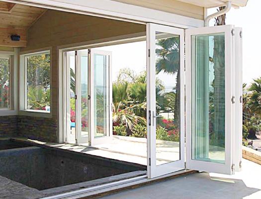 overture exterior folding doors