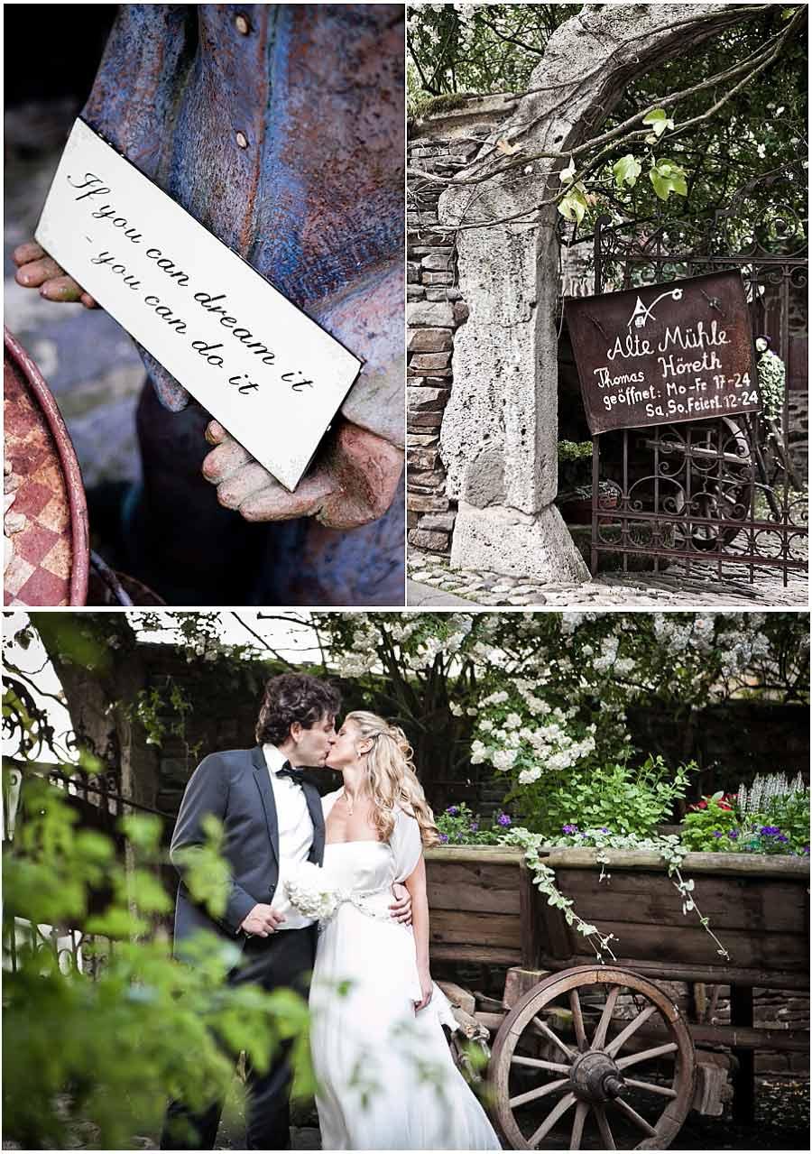 Hochzeit in der Alte Mhle Hreth  KobernGondorf