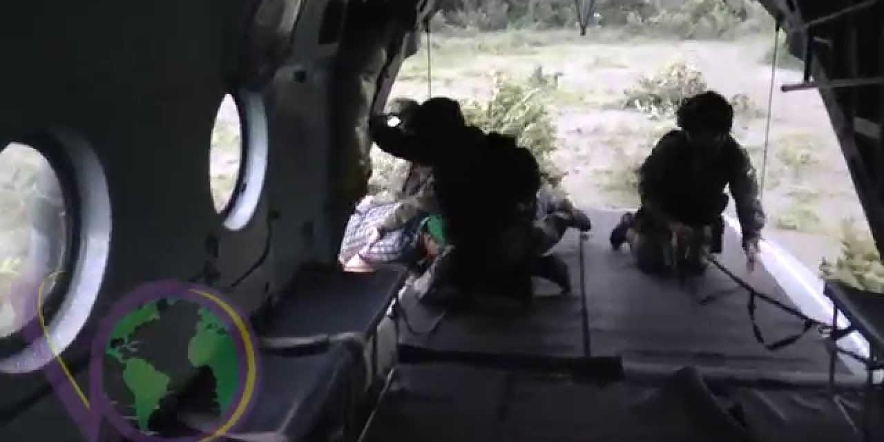 Conozca las labores de rescate del Ejercito Nacional en la emergencia invernal en Casanare.