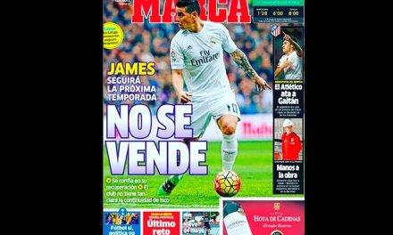 James Rodríguez se queda en el Real Madrid para la próxima temporada