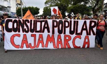 Mañana consulta popular anti-oro en Cajamarca Tolima. Camilo Padilla promotor del No.
