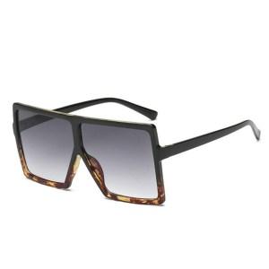 ocelot leopárd mintás celine napszemüveg barna fekete cica fazon