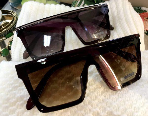 férfi női óriási kocka napszemüveg
