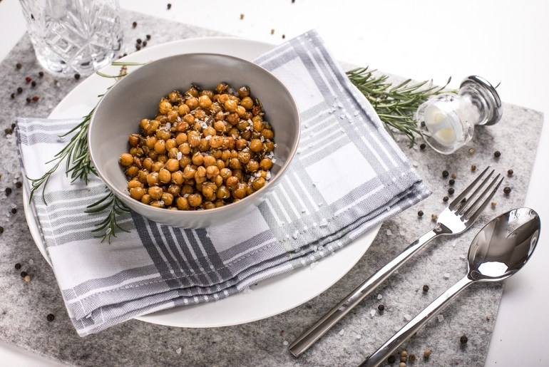 Healthy Snack – Roasted Chickpeas