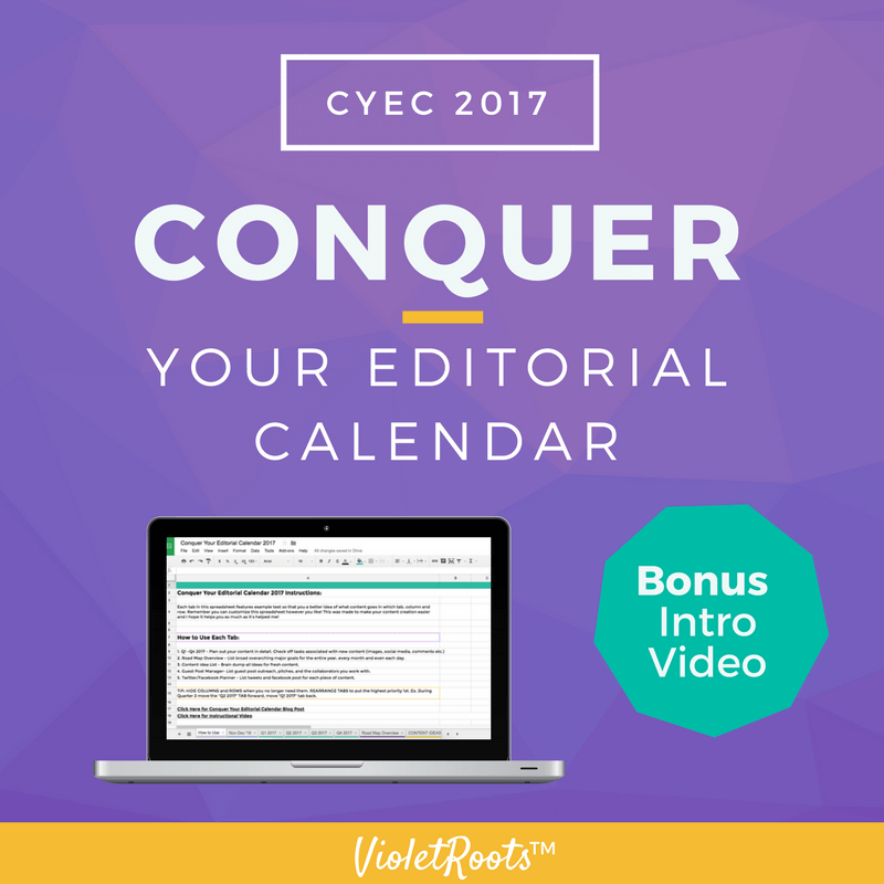The Absolute Best Way to Conquer Your Editorial Calendar 2