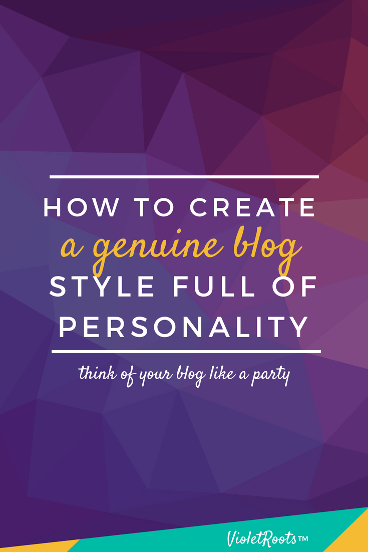 How to Create a Genuine Blog Style Full of Personality - Crafting a cohesive and genuine blog style involves a lot of little components but when they come together they can send an impactful message to the world!