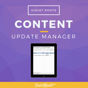 Content Update Manager - The Content Update Manager is an important resource for content creators who want to maintain the quality and professinalism of both old and new content.