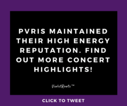 Steve Madden Music Presents: PVRIS - PVRIS performed at Music Hall of Williamsburg to a sold out crowd in Brooklyn, NY! Get concert highlights from the Steve Madden Music Presents: PVRIS show!