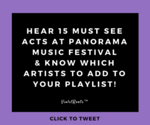 15 Must See Acts at Panorama 2017 - Headed to the NYC to attend Panorama Music Festival? Check out these must see acts at Panorama 2017 and add them to your summer festival lineup today!